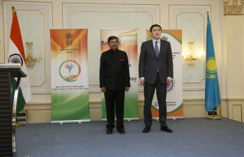 70th Republic Day of India celebrated in Kazakhstan
