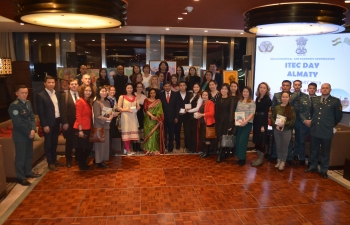 The Embassy celebrated  ITEC day in Almaty on 29th January 2019 in Ritz Carlton Hotel.
