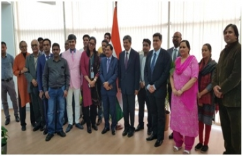 Briefing Session by Sh. Sushil Chandra, Hon'ble Election Commissioner of India.