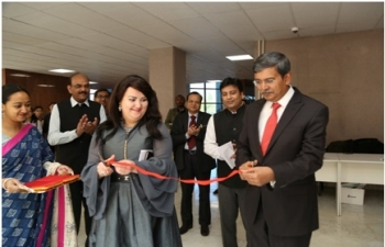 "Inauguration of ""KHADI-INDIA"" Exhibition on 08.10.2019 in Nur-Sultan"