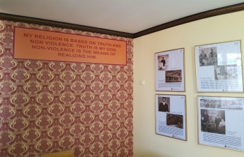 Celebrating 150th Birth Anniversary of Mahatma Gandhi in Kazakhstan