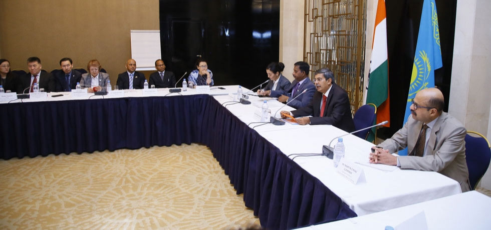 Embassy organized its 1st India-Kazakhstan Education Conference at Marriott Hotel in Nur-Sultan on 27-11-2019
