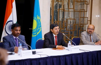 Embassy organised its 1st India-Kazakhstan Education Conference at Marriott Hotel in Nur-Sultan on 27 November 2019.