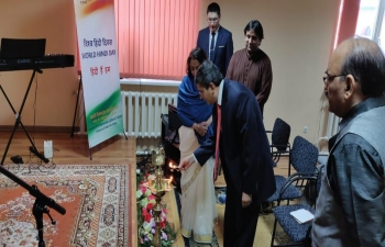 Celebration of World Hindi Day in Kazakhstan