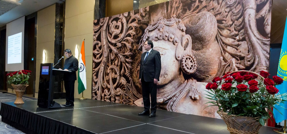 Embassy hosted a reception on 24.01.2020 to celebrate 71st Republic Day of India