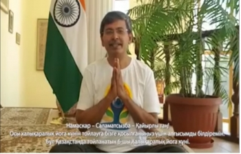 Message from Ambassador Prabhat Kumar on the occasion of International Day of Yoga 2020