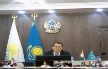 7th Session of India-Kazakhstan Joint Working Group on Trade & Economic Cooperation