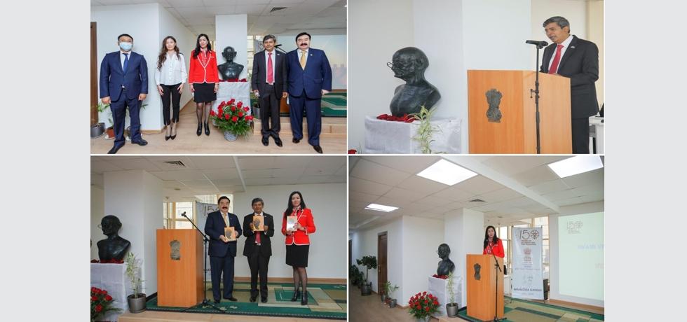 Embassy celebrates Gandhi Jayanti on 2nd October 2020