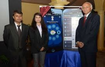 Ministry launched its smart phone application 'MEAIndia' on July 29, 2013