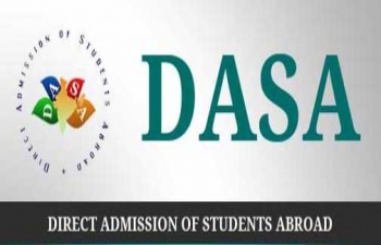 Direct Admission of Students Abroad (DASA) for the academic year 2015-2016