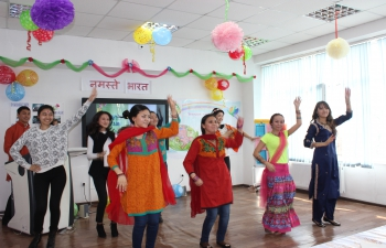 <div>Celebration of Holi and Nauryz and holding of Festival of Indian Tea at Al-Farabi Kazakh National University, Almaty</div>