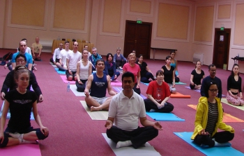 Introductory Yoga Session for Diplomatic Missions in Kazakhstan