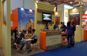 Indian Travel companies participate in Kazakhstan International Tourism Fair