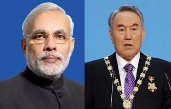 Prime Minister Modi congratulates President Nazarbayev on his re-election
