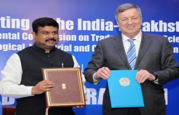 12th meeting of the India-Kazakhstan Inter-Governmental Commission on Trade, Economic, Scientific, Technical, Industrial and Cultural Cooperation held in New Delhi on June 16-17, 2015