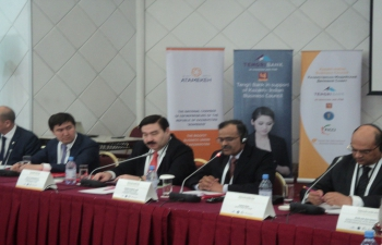Ambassador Participates in the 1st Institutional Meeting of Joint Business Council in Nur-Sultan on May 19, 2016