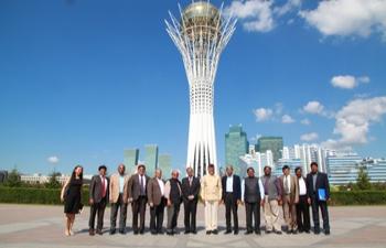 Visit of Chief Minister of Andhra Pradesh Shri N. Chandrababu Naidu to Kazakhstan