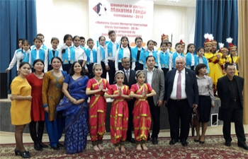 Ambassador Attends the Closing Ceremony of 6th Gandhi Memorial Chess Tournament