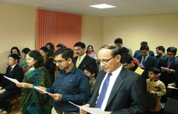 Celebration of Constitution Day of India in Kazakhstan