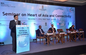 Kazakhstan Participates in Seminar - Heart of Asia and Connectivity in Amritsar