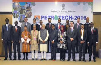Prime Minister Modi Inaugurates PETROTECH 2016