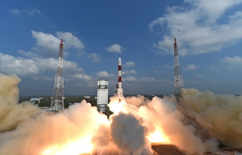 India Sets World Record by Launching 104 Satellites including a Kazakhstani Satellite in a Single Mission