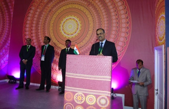 Inauguration of Indian Pavilion at Nur-Sultan EXPO 2017