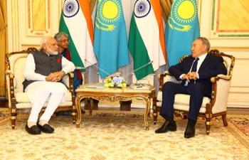 Prime Minister Shri Narendra Modi Visits Kazakhstan