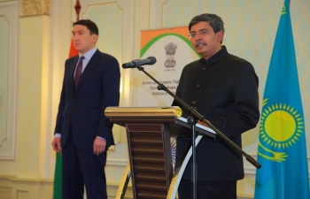 Celebration of the 69th Republic Day of India in Nur-Sultan