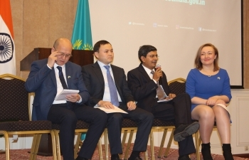"Workshop on ""Doing Business with India"" in Almaty on 20th March, 2018"