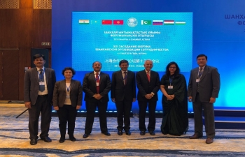 Six-member Delegation from India attends the SCO Forum in Nur-Sultan