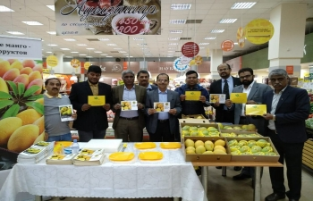 Indian Mango Promotional Campaign in Kazakhstan