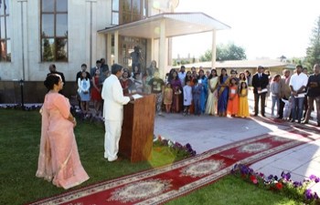 Celebration of the 72nd Independence Day of India