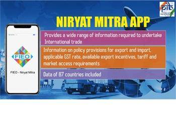 Niryat Mitra Mobile Application
