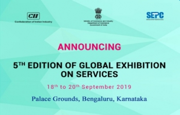 The 5th edition of Global Exhibition on Services (GES) 2019