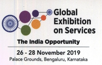 5th Edition of Global Exhibition on Services (GES) 2019 from 26-28 November 2019 at Palace Grounds, Bengaluru, Karnataka