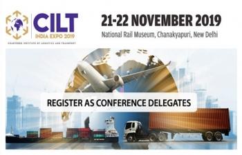 CILT India Expo 2019 on 21-22 November, 2019, at the National Rail Museum, Chanakyapuri, New Delhi.