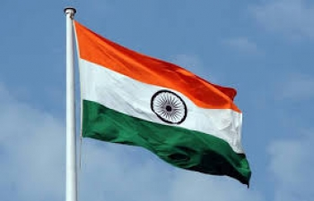 Flag hoisting ceremony on the occasion of 71st Republic Day of India.