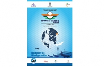 WINGS India, 2020 (an International Exhibition, Panel discussions, Roundtables, Global CEO Forum and B2B meetings) from 12-15 March, 2020 at Hyderabad