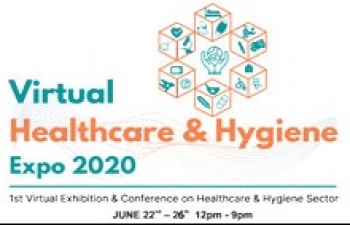 Virtual Healthcare & Hygiene Expo 2020: 22-26 June 2020