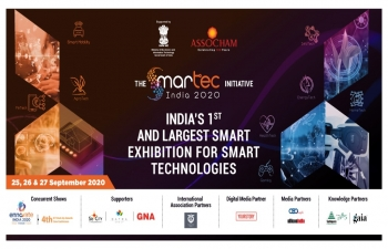 India's first and largest exhibition on smart technology 'SMARTecIndia2020'-September 25-27, 2020