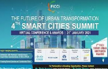"4th Smart Cities Summit: Virtual Conference & Awards"" from 21st January 2021"