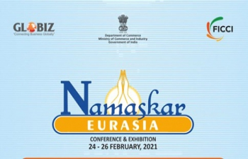 """Namaskar Eurasia Expo""- February 24-26, 2021 on virtual platform."
