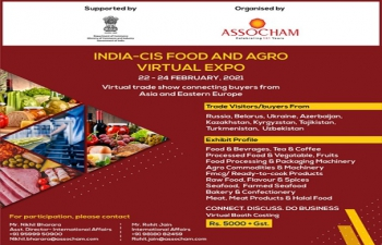 India-CIS Food & Agro Virtual Expo 22-24 February 2021