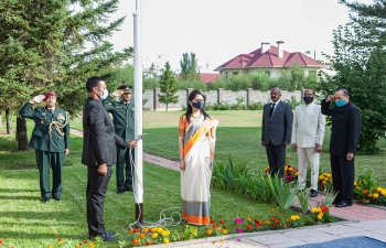 Celebration of 75th Independence Day of India in Kazakhstan